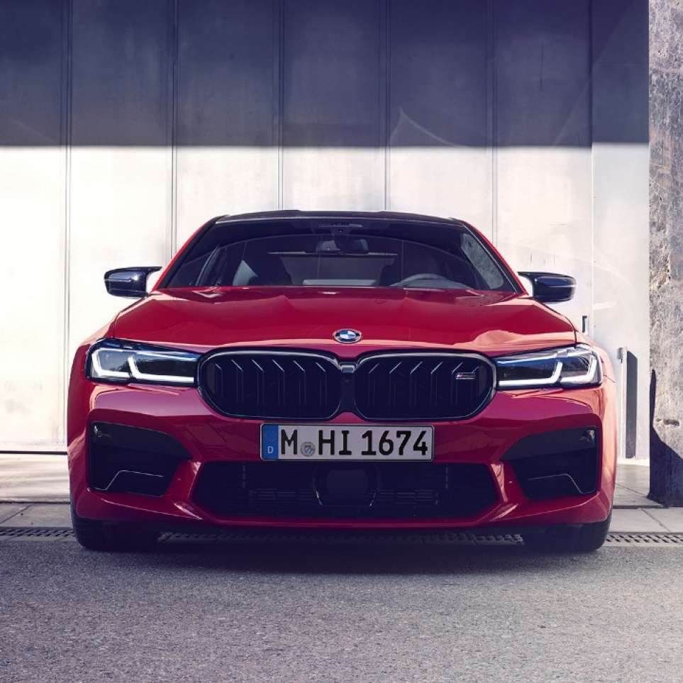 BMW M5 Competition Front neue Niere